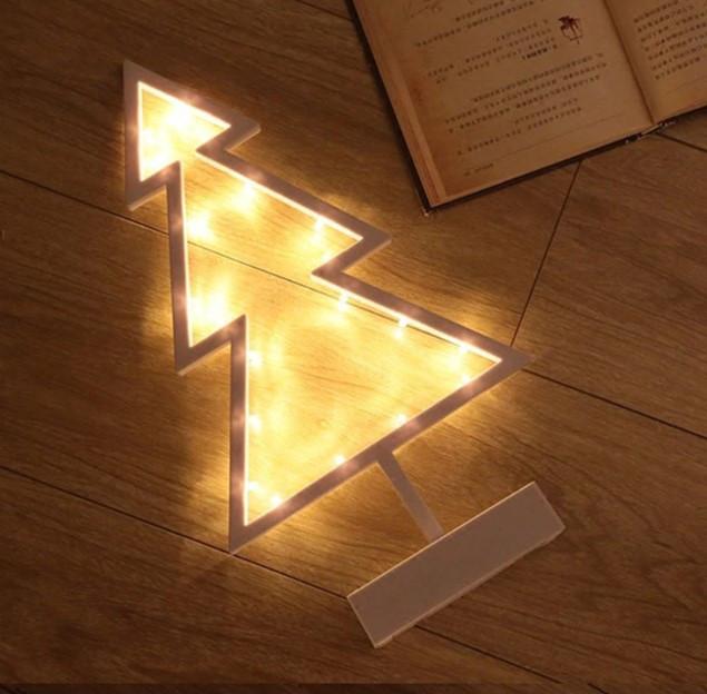 Декоратииний ночник светильник ночник Елка