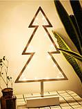 Декоратииний ночник светильник ночник Елка, фото 4