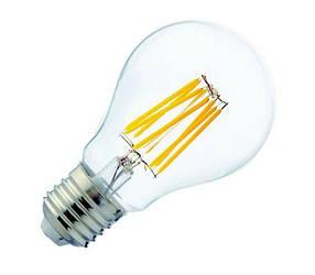 Светодиодная лампа FILAMENT GLOB-6 6W A60 Е27 2700K Код.59729