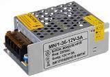 Негерметичные блоки питания 12В - постоянное напряжение Сompact 36W; 3А (MN/1) 1018986