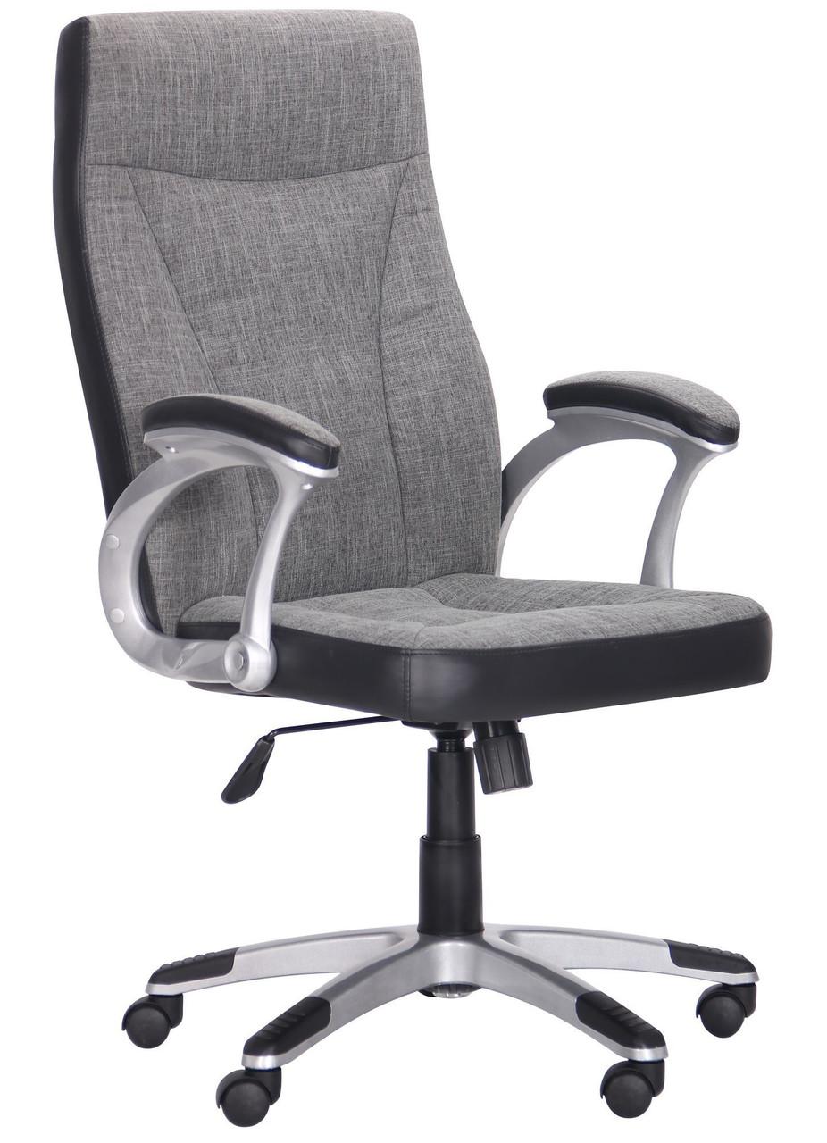 Кресло Beverly Dark Grey ткань + экокожа TM AMF