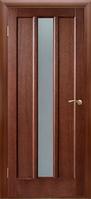 Межкомнатные Шпонированные двери Двери Белоруссии Троя ПО (Темный Орех )