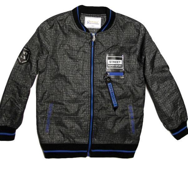 Стильная куртка бомбер для мальчика