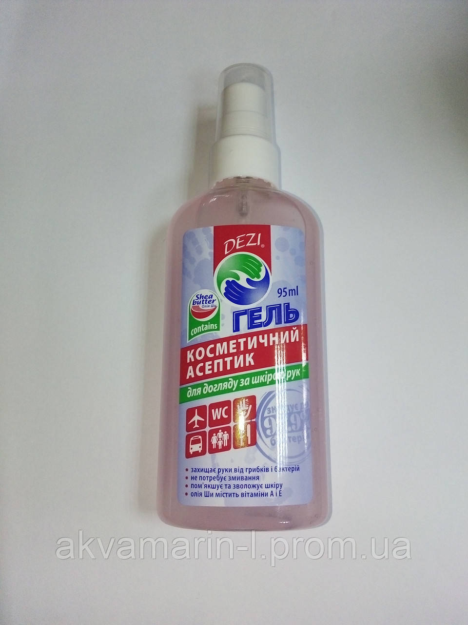 Гель  DEZI/ДЕЗИ косметический антисептик для рук, 95 мл
