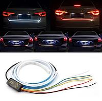 Подсветка багажника динамическая дублирующая RGB с поворотником 1.2 м