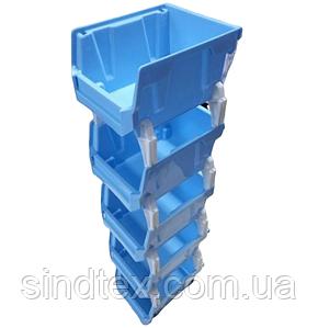 50х10см пластиковая тара (контейнер, органайзер) для рукоделия и шитья (657-Л-0202)