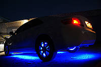 ТОП! Подсветка днища \ бамперов НЕОНовая светодиодная синяя 3 положения