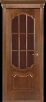 Мешкомнатные Шпонированные двери Двери Белоруссии Престиж (Каштан) ПО