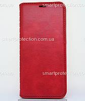 Чехол-книжка leather folio для Huawei P Smart Plus, Nova 3i красный
