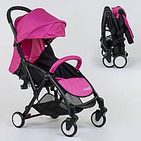 Детская коляска прогулочная JOY W 8095 Original футкавер съемный бампер Розовая