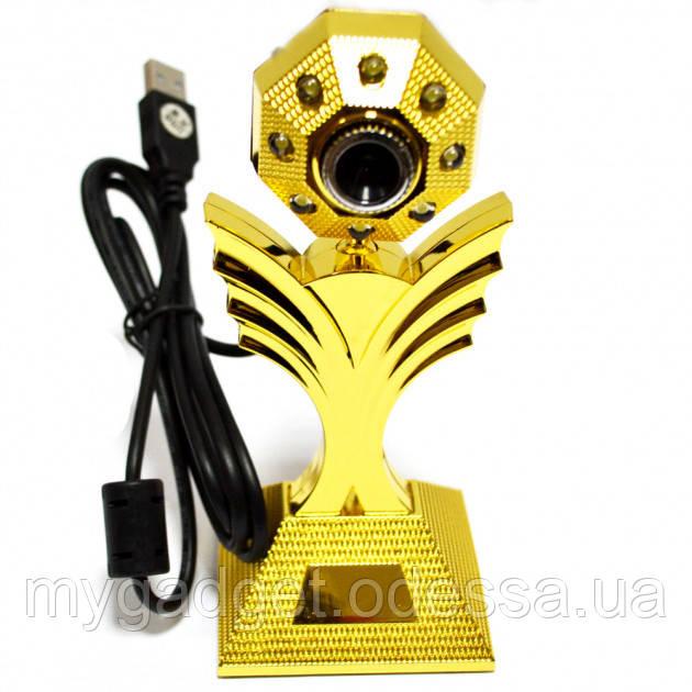 Красивая и функциональная Web-камера WC-HD (цветок)