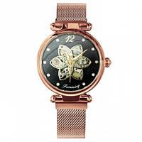 Мужские часы наручные  Forsining Cuprum Black Diamonds 1059-0029 механические с автоподзаводом водонепроницаемые