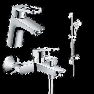 Набір змішувачів для ванни HANSGROHE Logis Loop 1042019 (71150000, 71244000, 26553400)