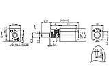 Мотор-редуктор GA12-N20-100RPM, фото 2