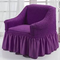 Чехол на кресло (Etek). Сирень
