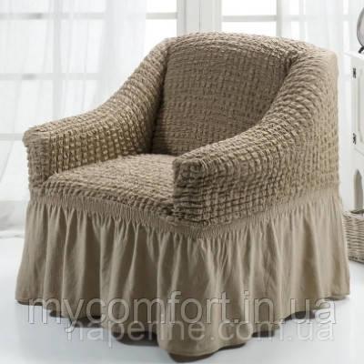 Чехол на кресло (Etek). Кофе