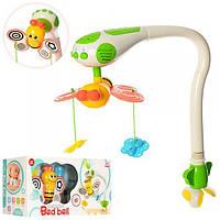 Мобиль детский на кроватку для новорожденных радиоуправляемый Bambi Бабочки WS6805 музыкальный