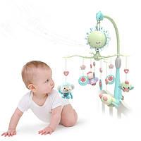 Мобиль детский на кроватку для новорожденных радиоуправляемый A-Toys  822-207 музыкальный