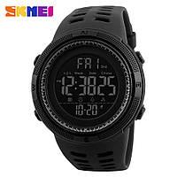 Skmei 1251 Amigo черные спортивные мужские часы водонепроницаемые 5 атм