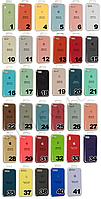 Накладка Silicone Case orig (чехол- бампер) iPhone XR розовый