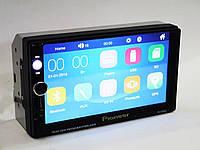 Магнитола 2 din (2 дин) Pioneer Pi-7030G Bluetooth сенсорный дисплей 7 дюймов GPS навигатор  короткая база