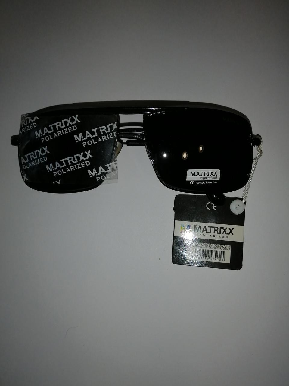 Солнцезащитные очки классика мужская, матрикс