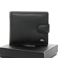 Мужской кожаный кошелек портмоне Dr. Bond с зажимом для купюр, Натуральная Кожа