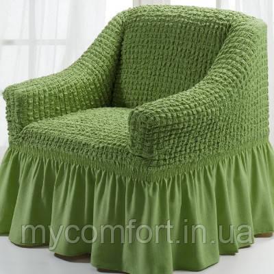 Чехол на кресло (Etek). Зеленый