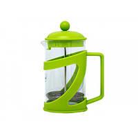 Заварник Con Brio 600мл пластик+стекло зеленый CB5360