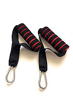 Ручки красные для эспандеров или тренажеров в комплекте 2 шт.