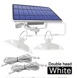 Подвесной наружный светильник на солнечной батарее 16 Led + 16 Led 520 Lm 2 светильника (лампы)