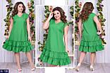 Стильное платье (размеры 50-60) 0240-91, фото 3
