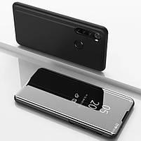 Чехол книжка для Samsung Galaxy A21 2020 A215 с зеркальной поверхностью (Разные цвета)