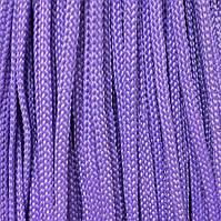 Шнур для одежды плоский 5мм цв сиреневый  (уп 100м) Укр-з