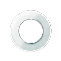 Одноместная рамка RENOVA белое стекло, Schneider Electric  WDE011406