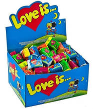 100 жвачек Love is... микс 5 вкусов сразу:)