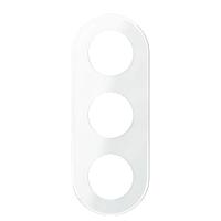 Тройная рамка RENOVA белое стекло, Schneider Electric  WDE011408