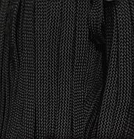 Шнур для одежды без наполнителя 8мм цв черный (уп 100м) Ф