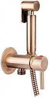 Набор для гигиенического душа Q-tap Inspai-Varius V00440001 VOT скрытого монтажа Бронза