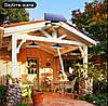 Наружный светильник на солнечной батарее 16 Led + 16 Led 520 Lm для кемпинга, дома, сада, двора - Фото