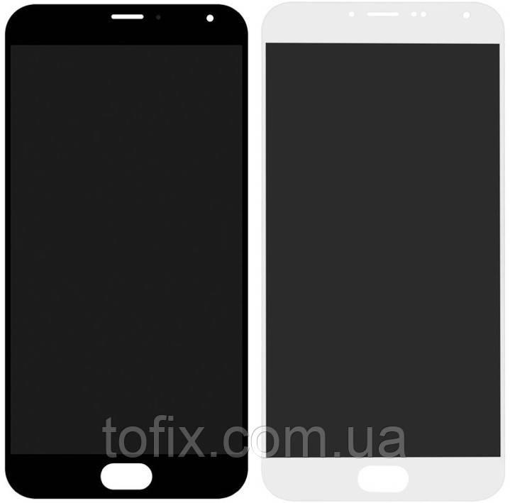 Дисплей для Meizu MX5 (M575), Meizu MX5e, Meizu MX5e Lite, модуль в зборі (екран і сенсор), оригінал (Amoled)