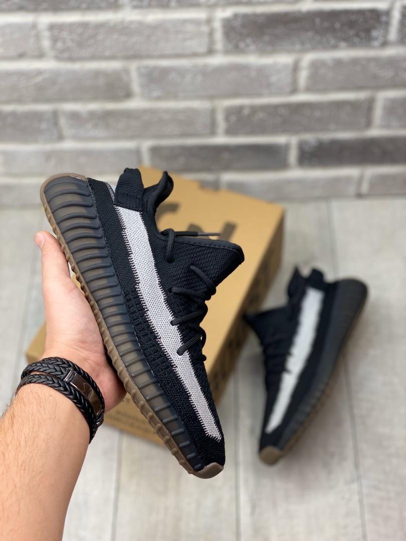 """Кроссовки Adidas Yeezy Boost 350 V2 """"Черные"""""""