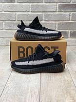 """Кроссовки Adidas Yeezy Boost 350 V2 """"Черные"""", фото 3"""