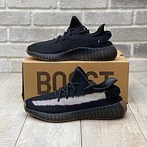 """Кроссовки Adidas Yeezy Boost 350 V2 """"Черные"""", фото 2"""
