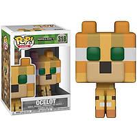 Фигурка Funko Pop Фанко Поп Майнкрафт Оцелот MinecraftOcelot10 см M O 318