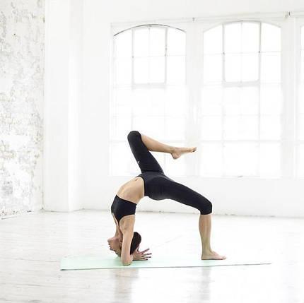 Мат для йоги Adidas ADYG-10400GNFR 4 мм салатовый, фото 2