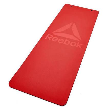 Мат для фитнеса Reebok RSMT-40030RD красный, фото 2