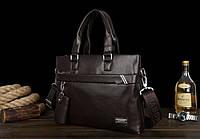 Мужская кожаная сумка. Модель 61213, фото 10