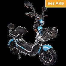 Електричний мопед CITY gy-4 350W/48V (сіро-блакитний)