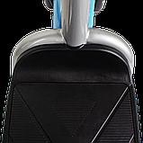 Электрический мопед  CITY gy-4 350W/48V (серо-голубой), фото 4